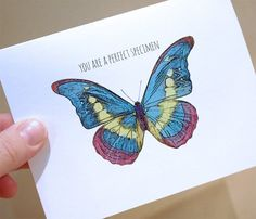 Valentine Card  you are a perfect specimen by wanderandroar, $4.00