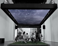 The Inner Workings Of The Mesmerizing Virtual Rainstorm At Our Beijing Event  | The Creators Project