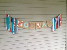 """""""HOORAY"""" banner by The Twisted Thread https://www.facebook.com/TheTwistedThread.1"""