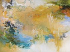 © Audrey Phillips Remembrances of a Place Eternal • 38x53 Acrylic Mixed Media on Canvas