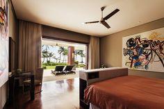 Master's bedroom of the Boracay villa