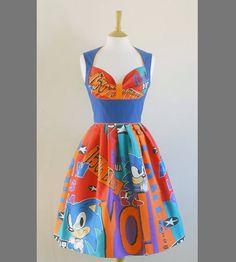 Sonic the Hedgehog dress
