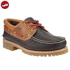 Timberland Authentics 3-Eye Lammfell Boat Shoes (Gr. 50) - Timberland schuhe (*Partner-Link)