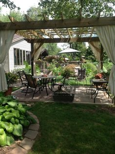 Outdoor Lifestyle - Backyard Paradise What a great pergol., Outdoor Lifestyle - Backyard Paradise What a great pergola. When historical inside principle, this pergola may be enduring somewhat of a present day rebirth most of. Backyard Gazebo, Backyard Patio Designs, Outdoor Pergola, Outdoor Rooms, Backyard Landscaping, Outdoor Gardens, Outdoor Living, Patio Ideas, Modern Pergola