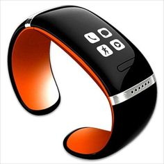Smart OLED Bluetooth 3.0 Bracelet Watch- Call ID/Answer/Dial/SMS mobile  L12S #UnbrandedGeneric