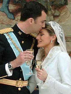 Prins Filipe & Letitzia Ortiz, Spanje