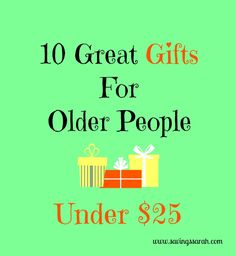 10 Great Gifts For Older People. Seniors are often hard to buy for, so use these suggestions to help make your gift giving easier. Gifts For Old People, Gifts For Old Men, Gifts For Older Women, Gifts For Elderly Men, Creative Gifts, Cool Gifts, Unique Gifts, Best Gifts, Useful Gifts