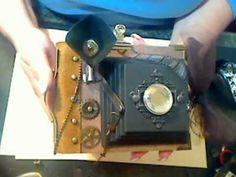 Video of -> Vintage Style Camera Mini Album