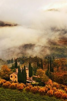 autumn in tuscany.