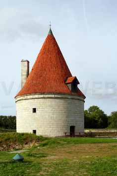 Kuressaare artillery tower, Saaremaa island, Estonia