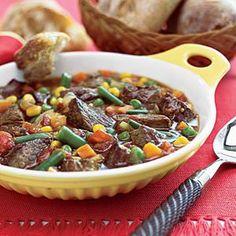 блюда из баранины с овощами