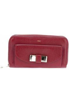 Carteras y monederos de mujer - Chloé 'Lily' Zipped Wallet