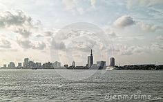 View of lagos in nigeria africa