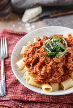 A sophisticated and elegant yet surprisingly easy recipe for Pasta with Braised Pork Ragu that will impress your family and friends at your next dinner party.