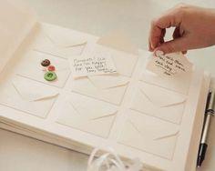 Ideias originais para livros de honra. #casamento #ideias #livrodehonra #dedicatórias