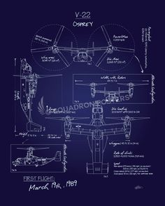 C 17 blueprint art designed by squadron posters wall art for v 22 osprey blueprint art sp malvernweather Gallery