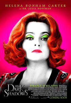 "See Helena Bonham Carter in ""Dark Shadows."" Opens in IMAX May 11, 2012."
