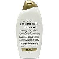 Organix Nourishing Coconut Milk Hibiscus Creamy Body Lotion