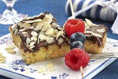 Lag en saftig og glutenfri kake med kombinasjon av sjokolade, appelsin og mandler.