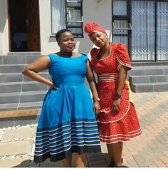 Awesome Collection of Traditional Shweshwe Attire For You, We accept got this alarming accumulating of Traditional Shweshwe Attire African Print Dresses, African Print Fashion, Africa Fashion, African Fashion Dresses, African Dress, African Clothes, African Prints, Sesotho Traditional Dresses, African Fashion Traditional