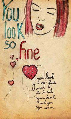Shirley Manson - Garbage - You Look So Fine