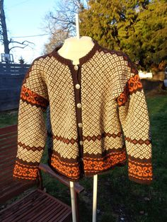 on sale Vintage Norwegian Knit wool Husfliden by Simplemiles, $49.99