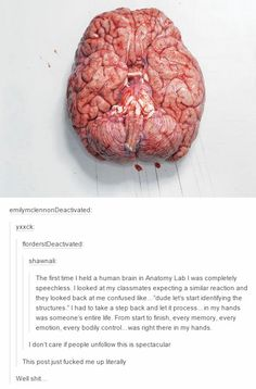 This actually blew me away.