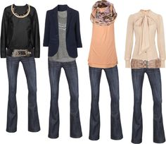 """Jeans mania"" by lafujiko on Polyvore"