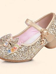 Girls' Shoes Leatherette Spring & Summer Comfort / Flower Girl Shoes Flats Sequin / Buckle for Silver / Blue / Pink / TPR (Thermoplastic Rubber) 2019 - € Cheap Girls Shoes, Cheap Girls Clothes, Girls Shoes Online, Girls Dresses Online, Girls Flats, Party Dresses Online, Kids Online, Fall Flower Girl, Flower Girl Shoes