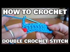 #7 How to make the Double Crochet  Free Online YouTube Live Video Class - YouTube