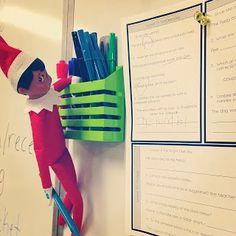 Elf on the Shelf for upper elementary