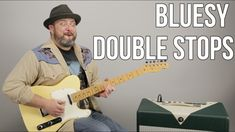 Blues Double Stops Guitar Lesson Guitar Strumming, Guitar Chords, Music Guitar, Playing Guitar, Learning Guitar, Guitar Scales, Box Guitar, Jazz Guitar, Blues Guitar Lessons