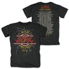 AC/DC - High Voltage Tour 76 (Black)