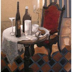 Late Afternoon, oil on canvas, 70 x 70 cm, by Todor Ignatov - Tony http://buyart.tonyignatov.eu/