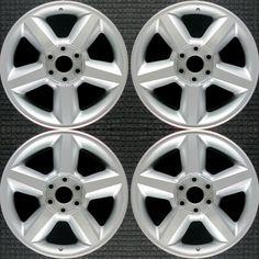 Chevrolet Avalanche All Silver 20 inch OEM Wheel 2007 to 2009 · $189.99 20 Inch Rims, Oem Wheels, Chevy Silverado 1500, Black Rims, Chevrolet, Chevrolet Silverado 1500