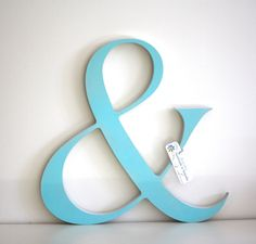 Large timber ampersand - via DTLL.