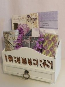 Gifts for every occasion!  (Vintage Letters Basket $78+tax)