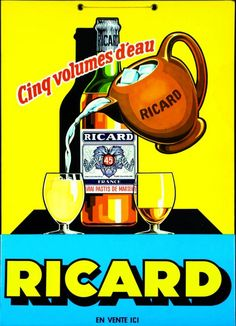 Ricard (1960) we have one of these that we're giving to a friend as a gift. His last name is Ricard.