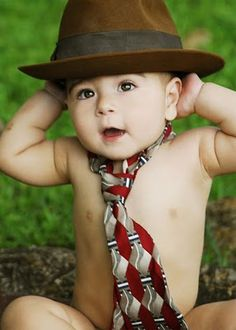 All business. great idea for baby boy photography