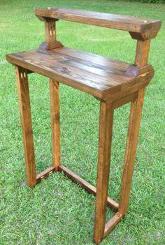 Standing Desk Rustic Modern Reclaimed Standing by SenovaDesigns, $175.00