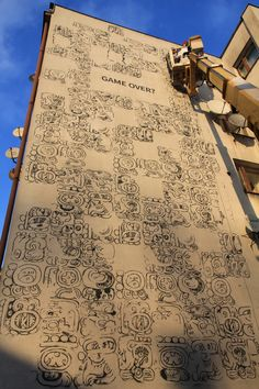Mayamural Day 2 - 7 dec 2012; part 2 #streetart #graffiti #krakow #maya #mayas #2012