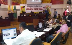 Concejo de Pereira aprueba recursos para financiar proyectos del municipio