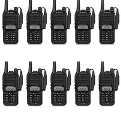 10pcs Baofeng GT-3WP IP67 Waterproof VHF/UHF 136-174/400-520MHz Dual Band Handheld Transceiver Ham Two Way Radio Walkie Talkie Review Radios, Communication, Talkie Walkie, Two Way Radio, Talk To Me, Ham, Communication Illustrations