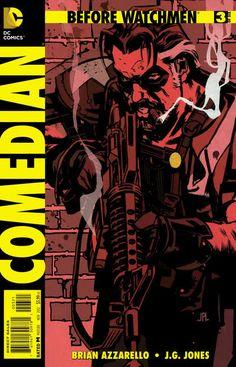 Before Watchmen: Comedian #3 Variant