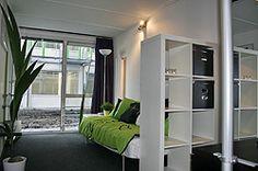 prefab housing unit professor interior