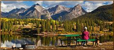 Molas Lake campground - Silverton CO.