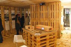 Pallet House / Schnetzer Andreas Claus + Pils Gregor,