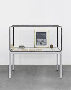 Joseph Beuys, Vitrine with several objects