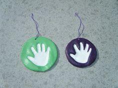 Montessori Beginnings: Salt dough handprints