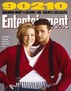 Jennie Garth & Jason Priestly. EW Sept. 1994